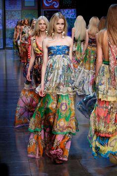 Dolce & Gabbana Maxi Dresses Summer 2012