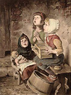 Up And Away-Hermann Kaulbach (1846 – 1909, German)