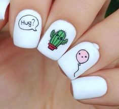White acrylic nails never go out of fashion. Even now they are extremely popular. Artificial nails are great timesavers, no doubt. They can be styled to suit any occasion. If you prefer some eccentric nail shapes, acrylic nails are a definite must for you White Acrylic Nails, Best Acrylic Nails, Summer Acrylic Nails, Acrylic Nail Designs, Nail Art Designs, Nails Design, White Nail, Nail Designs Tumblr, Nail Summer