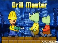 Drill Master  Android Game - playslack.com , a building tract was suddenly ambushed  by monsters. You possess only an electric drill to preserve yourself against them. Use it to drill openings, accumulate devices and other bonuses, and find a path out from the stage. The game is based on easy but amusing graphics with joyous song and has several control modes.