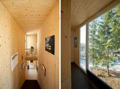 Cabaña en los bosques de T2.a Architects  #PepeCabreraInteriorismo #InteriorDesign #Inspiration #T2.aArchitects