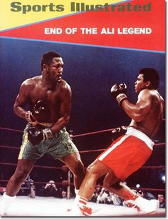 End of the Ali Legend .. Sorry couldn't see or find the date