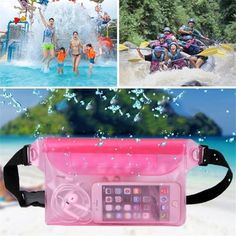 Travel Beach Swim Dry Bag Waterproof Surf Diving PVC Waist Pack Phone Camrea Storage Pouch
