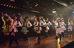Kyoko Nishiyama - Google+ - 「7周年特別記念」公演(^^)/~~~ 切り撮ってみた。 19曲目 「永遠プレッシャー」。…