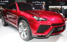 Lamborghini Urus SUV Concept Leaks Out Before Beijing Unveil - WOT on Motor Trend