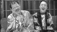 Laughing out loud with Laurel and Hardy during the school holidays.