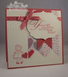 Send a Card, Greeting Card Kids, Word Play, Stampin' Up!  Stamping Country Where Creativity Blooms