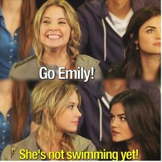 Hanna Marin with her always hilarious quotes.