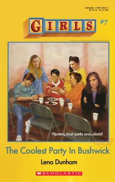 "You Need These Mash-Ups Of ""Girls"" And ""The Baby-Sitters Club"" In Your Life"