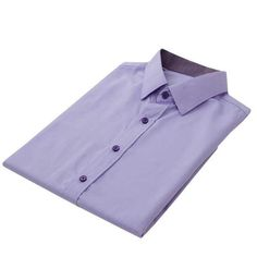 100% Cotton French Cuff Shirt - Purple    Boost your office wardrobe with this contemporary colour with Dapper Avenue Shirts. Crafted from 100% cotton, team this lustrous purple piece goes perfectly with smart trousers and dress shoes for formal ensembles.
