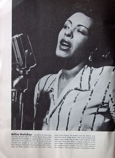 Billie Holiday Billie Holiday, Black Is Beautiful, Simply Beautiful, Lady Sings The Blues, You Rock My World, Cool Jazz, R&b Soul, Old Music, Jazz Musicians