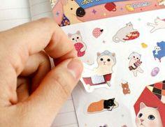 猫のスイートシール アットホーム「猫グッズ・猫雑貨のchoo choo本舗」
