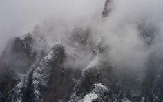 Fury. Dolomites, Italy. #alpedisiusi #dolomiti #winter #white #whitelandscape #storm #dolomites #landscape #landscapephotography #mountains #snowing #snow #stormy #ice #italy #fineart #fineartphotography #marcoromani #italia #marcoromaniphotography #dramatic #outdoorphotography #travel #Nikon #Feisol #Nikkor