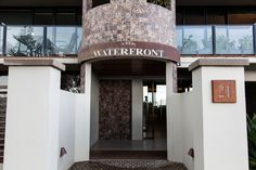 Complement your outdoor entry with bold, textured signs from Entanglements to suit your surroundings!