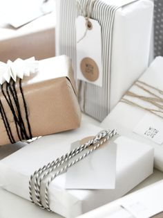 Apr 2020 - Creative packaging and gift wrap inspiration. See more ideas about Gift wrapping, Pretty packaging and Gifts. Wrapping Ideas, Wrapping Gift, Creative Gift Wrapping, Christmas Gift Wrapping, Creative Gifts, Paper Wrapping, Christmas Packages, Pretty Packaging, Gift Packaging
