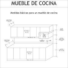 Resultado de imagen para muebles de cocina medidas ideas for Medidas modulos cocina
