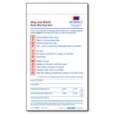 """""""Stop and Watch"""" Early Warning Tool for Home Health - pads of Assisted Living Homes, Senior Home Care, Long Term Care, Home Health, Leadership, Management, Watch, Design, Clock"""