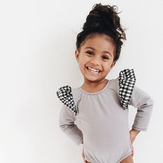 This girl is starting dance next week! And we're trying to figure out what she'll wear & this @thistribeofthree body suit it is!