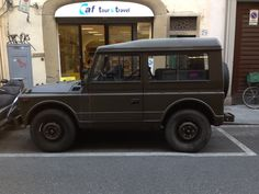 Fiat Campagnola, as seen in Florence, Italy this week.