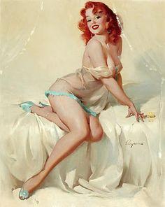 """Darlene-""""Bedside Manner""""  1958 Elvgren"""