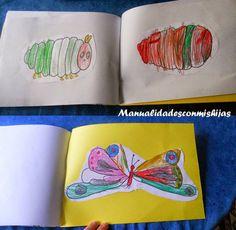 Hacemos un cuento 1: The very hungry caterpillar - 4 años