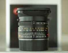 Leica Summicron 1:2 / 35mm ASPH MP M9 MM M 240 OVP Boxed 6-Bit 12585H & 12526