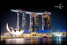 Singapore Lotus             ___________________               #travel #southeastasia #architecture #inneriart inner i art