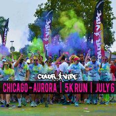 Chicago (Aurora) Color Vibe 5k