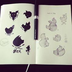 "Logo Study ""Profile Pig"""