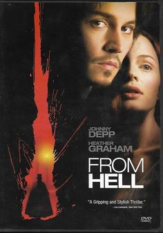 From Hell DVD 2002 Horror