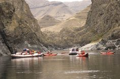 River Currents Blog: The Confluence of Two of Idaho's Greatest Rivers ~ http://www.bikeraft.com/blog/river-currents-blog-the-confluence-of-two-of-idahos-greatest-rivers/#