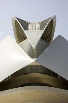 Santiago Calatrava - Palau de les Arts - Valencia Spain - 1996-2006