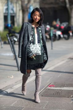 """On the third city of a Fall 2014 fashion tour, Diego Zuko snaps the """"donne"""" in Milano."""