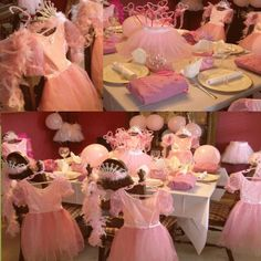 Pretty in Pink Princess Party from My Princess Party to Go  myprincesspartytogo.com  #princes party #pink #princessparty