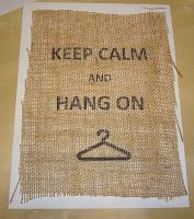 Life With the Giles': Printing on Burlap Mudroom Laundry Room, Laundry Room Signs, Cozy Apartment, Dream Apartment, Apartment Ideas, Printing On Burlap, Cute Crafts, Diy Crafts, Create And Craft