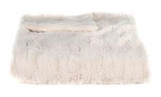 Ivory Stripe XL Throw