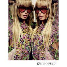 "ada952e392b Emilio Pucci on Instagram  ""The new Emilio Pucci Spring Summer 2015  advertising campaign"