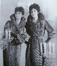 Leopard Fur Coat, Fox Fur Coat, Fur Coats, Retro Fashion, Vintage Fashion, Evolution Of Fashion, Fur Clothing, Classy Aesthetic, Vintage Glam