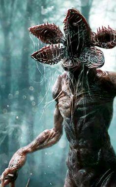 Stranger Things. Demogorgon Games Zombie, Stranger Things Halloween, Stranger Things Netflix, Demons, Aliens, Monsters, Beast, Creatures, Sketches
