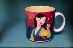 Disneys Mulan Coffee Mug by CoffeeApothecary on Etsy, $12.00