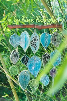 Leaf mobile. Gloucestershire Resource Centre http://www.grcltd.org/scrapstore/