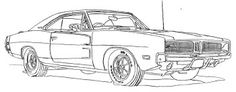 Dodge Car RX 1500 Coloring Page - Dodge coloring pages