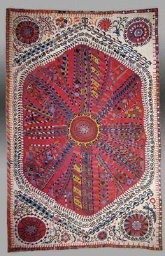 Uzbek Suzanis - An Introduction - History and wonderful examples of suzani