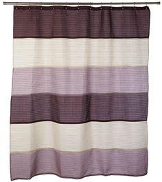 Nicole Miller Willow 72 X 72 Fabric Shower Curtain Plum Bed Bath