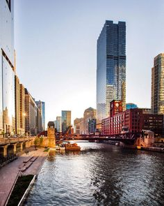 Chicago River Photography