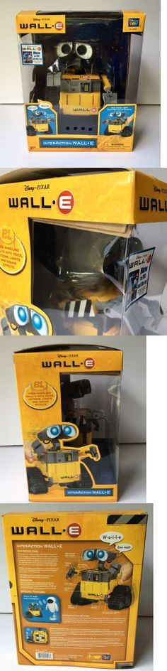 Wall-E 168209: Disney Pixar Interaction Wall E Thinkway Electronic Toy New -> BUY IT NOW ONLY: $89 on eBay!