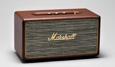 Quality sound and classic style come together in Mashall's Bluetooth-enabled Stanmore speaker
