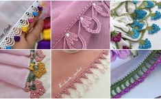 Ayşegül Hanım'ın Şahane Tığ İşi Oya Modelleri Crochet Motif, Models, Needlework, Crochet Necklace, Sewing, Knitting, Awesome, Instagram, Facebook