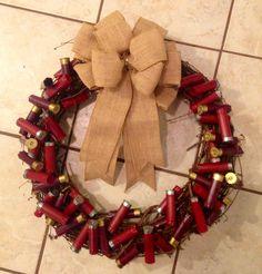 Gun Cartridge Case Wreath