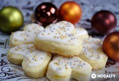 Karácsonyi citromos keksz Breakfast Recipes, Dessert Recipes, Hungarian Recipes, Xmas, Christmas, Biscuits, Food And Drink, Sweets, Cheese
